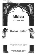Alleluia - SATB And Piano PIANO REDUCTION/VOCAL SCORE Sheet Music