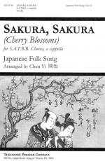Sakura, Sakura - For SATBB Chrous, A Cappella (Cherry Blossoms) PIANO REDUCTION/VOCAL SCORE Sheet Music