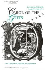 Carol Of The Gifts - SAB Chorus With Keyboard Accompaniment CHORAL PART(S) Sheet Music