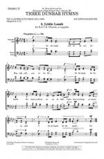 Little Lamb - From Three Dunbar Hymns Sheet Music
