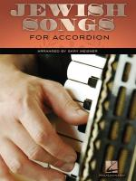 Jewish Songs For Accordion Sheet Music