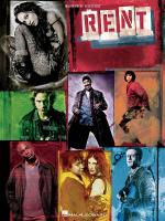Rent Movie Vocal Selections Sheet Music