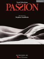 Stephen Sondheim - Passion - Revised Edition Vocal Selections Sheet Music