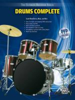 Ultimate Beginner Series: Drums Complete - Book & DVD (Sleeve) Sheet Music