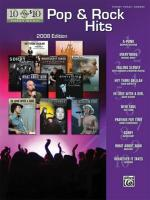 10 for 10 Sheet Music: Pop & Rock Hits 2008 Edition - Book Sheet Music