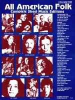 All American Folk Volume 1 Sheet Music