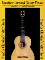 Creative Classical Guitar Pieces Sheet Music