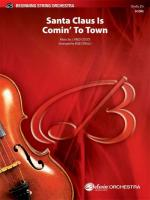 Santa Claus Is Comin' to Town - Conductor Score Sheet Music