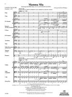 Mamma Mia, Selections From (Featuring: Mamma Mia / S.O.S. / Dancing Queen) - Conductor Score & Parts Sheet Music