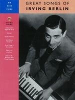 Irving Berlin - Great Songs Of Sheet Music