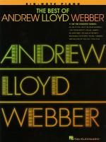 The Best Of Andrew Lloyd Webber Sheet Music