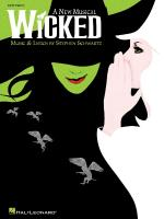 Wicked A New Musical - Easy Piano Selections Sheet Music
