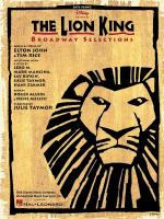 The Lion King - Broadway Selections Sheet Music
