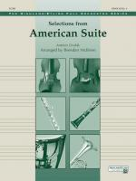 Selections from American Suite - Conductor Score Sheet Music