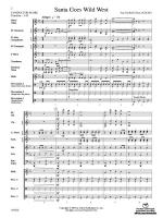 Santa Goes Wild West - Conductor Score & Parts Sheet Music