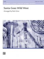 Santa Goes Wild West - Conductor Score Sheet Music
