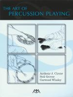 The Art Of Percussion Playing Sheet Music