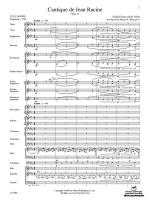 Cantique de Jean Racine - Conductor Score & Parts Sheet Music