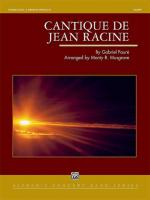 Cantique de Jean Racine - Conductor Score Sheet Music