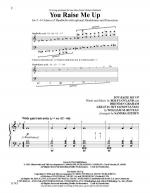 You Raise Me Up - Octavo Sheet Music