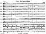 Frank Granata's Blues Sheet Music