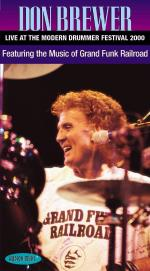Don Brewer - Live At The Modern Drummer Festival 2000 Vhs Video Sheet Music
