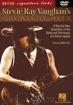 Stevie Ray Vaughan's Greatest Hits Signature Licks DVD Sheet Music