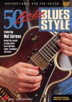 50 Licks Blues Style Sheet Music