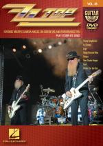 Zz Top Guitar Play-Along DVD Volume 38 Sheet Music