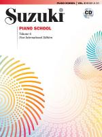 Suzuki Piano School New International Edition Piano Book And CD, Volume 6 - Book & CD Sheet Music