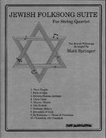 Jewish Folksong Suite String Quartet Sheet Music