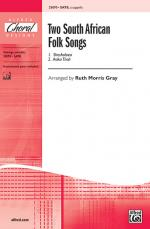 Two South African Folk Songs Sheet Music (1. Asika Thali / 2. Shosholoza) - Choral Octavo Sheet Music