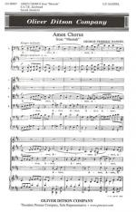Amen Chorus From Messiah - From Messiah PIANO REDUCTION/VOCAL SCORE Sheet Music