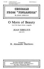 O Morn Of Beauty - Chorale From Finlandia PIANO REDUCTION/VOCAL SCORE Sheet Music