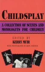 Childsplay A Collection Of Scenes And Monologues For Children Sheet Music