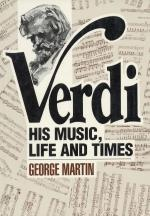 Verdi His Music, Life And Times Sheet Music