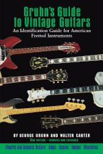 Gruhn's Guide To Vintage Guitars Updated And Revised Third Edition Sheet Music