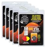 Guitar Chord Pickin'tionary 5-Pack Clamshell With 2 Picks And Mini Chord Book Sheet Music