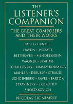 The Listener's Companion The Great Composers And Their Works Sheet Music