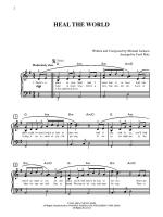 Heal the World - Sheet Music Sheet Music