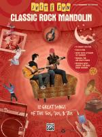 Just for Fun: Classic Rock Mandolin (12 Great Songs Of The '60s, '70s & '80s) - Book Sheet Music