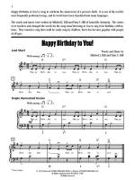 Happy Birthday to You! - Sheet Music Sheet Music