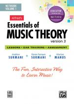 Essentials Of Music Theory: Software, Version 3 Network Version, Volume 1 (For 5 Users-$20 Each Addi Sheet Music