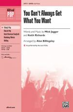 You Can't Always Get What You Want Sheet Music (As performed by the cast of Glee) - Choral Octavo Sheet Music