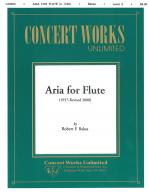 Aria For Flute Flute Solo Sheet Music