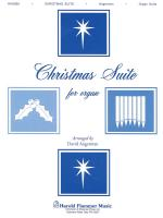Christmas Suite For Organ Organ Solo Sheet Music