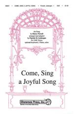 Come Sing A Joyful Song Sheet Music Sheet Music