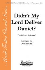 Didn't My Lord Deliver Daniel? Sheet Music Sheet Music