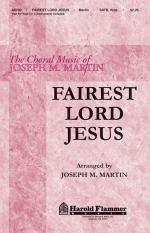 Fairest Lord Jesus Sheet Music Sheet Music