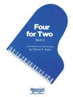 Four For Two Volume 2 Piano Duet Sheet Music